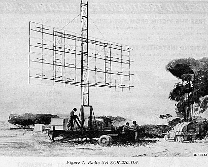 AN/SCR-270 Mobile Radar